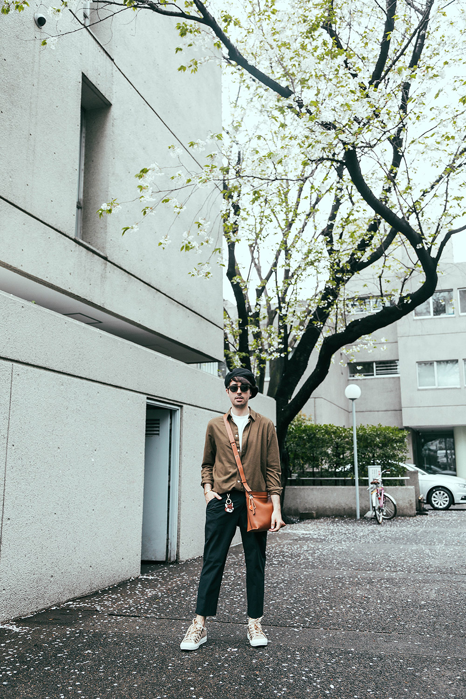 cupofcouple-streetstyle_tokyo-loewe_fisherman_trousers-loewe_bag-boina-0011